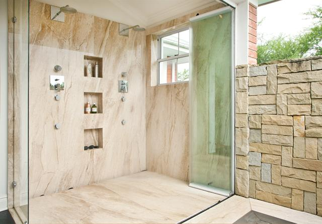 Shower -- open-plan showers 3