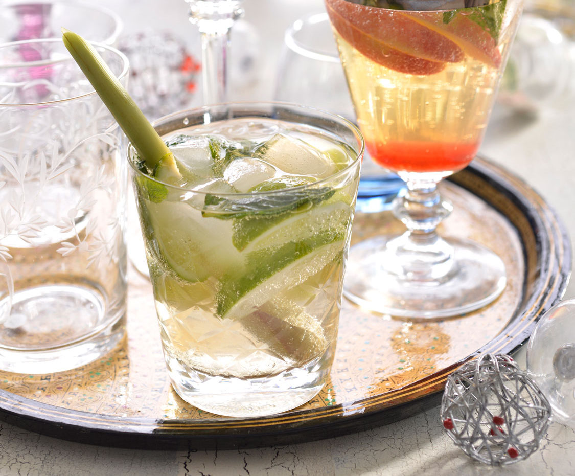 Ginger Lime And Lemongrass Fizz Sa Garden And Home