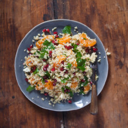 CLEMENGOLD AND COUSCOUS SALAD
