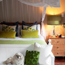 How to make your bed a focal point