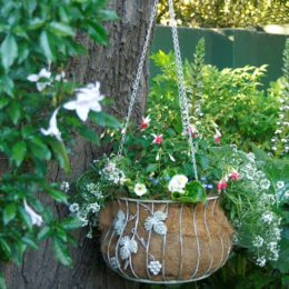 How to make a hanging basket in 8 easy steps