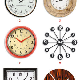 9 Wall clocks we love