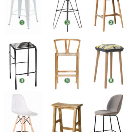 Shopping for bar stools