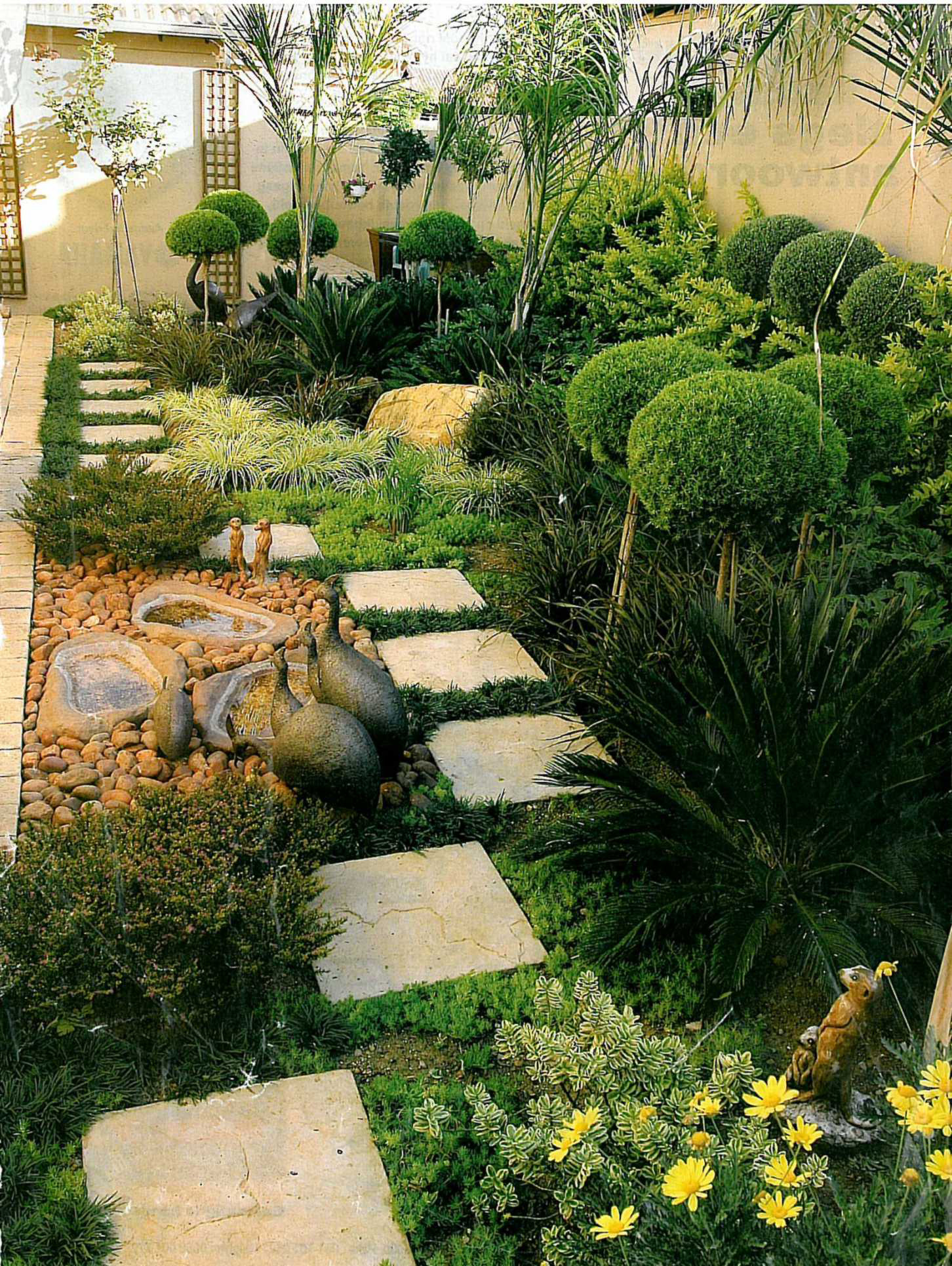 Water wise garden designs south africa front garden for Garden designs in south africa