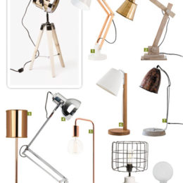 Shopping for desk lamps