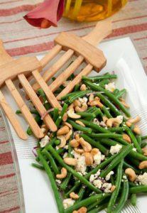 GREEN BEAN, FETA AND CASHEW NUT SALAD