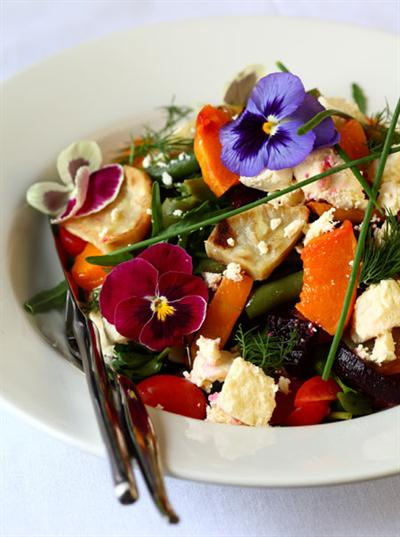 BEETROOT, BUTTERNUT AND SWEET POTATO SALAD