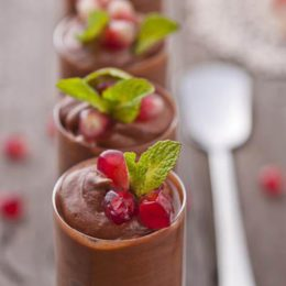CHOCOLATE MOUSSE SHOTS
