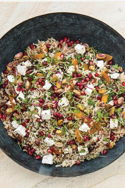 FRUITY WILD RICE SALAD