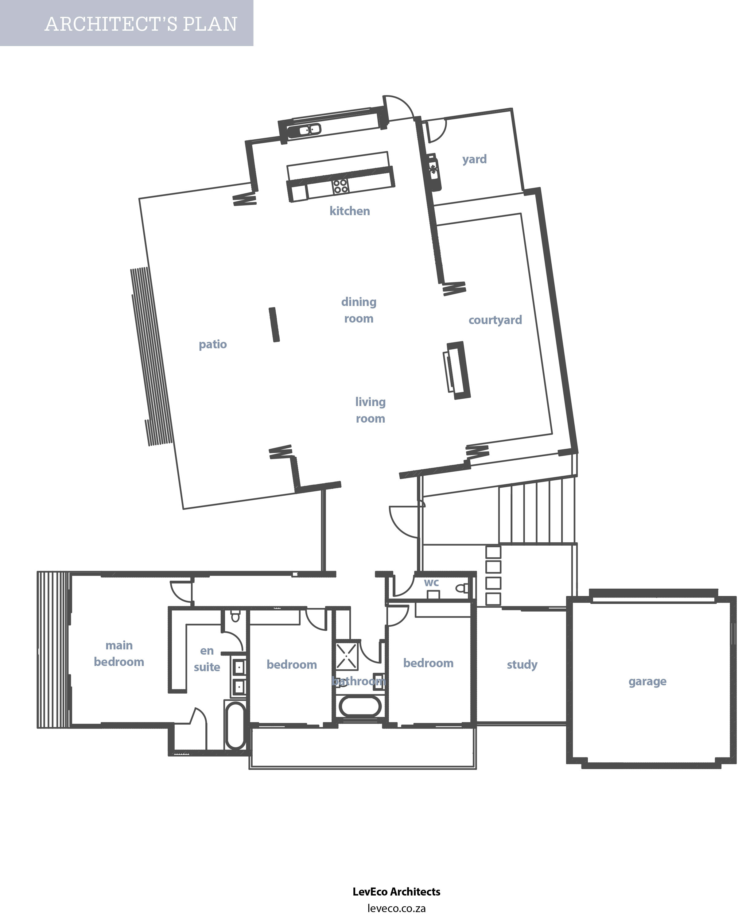 Architect Floor Plans | Open Plan Eco Friendly House Plan Sa Garden And Home