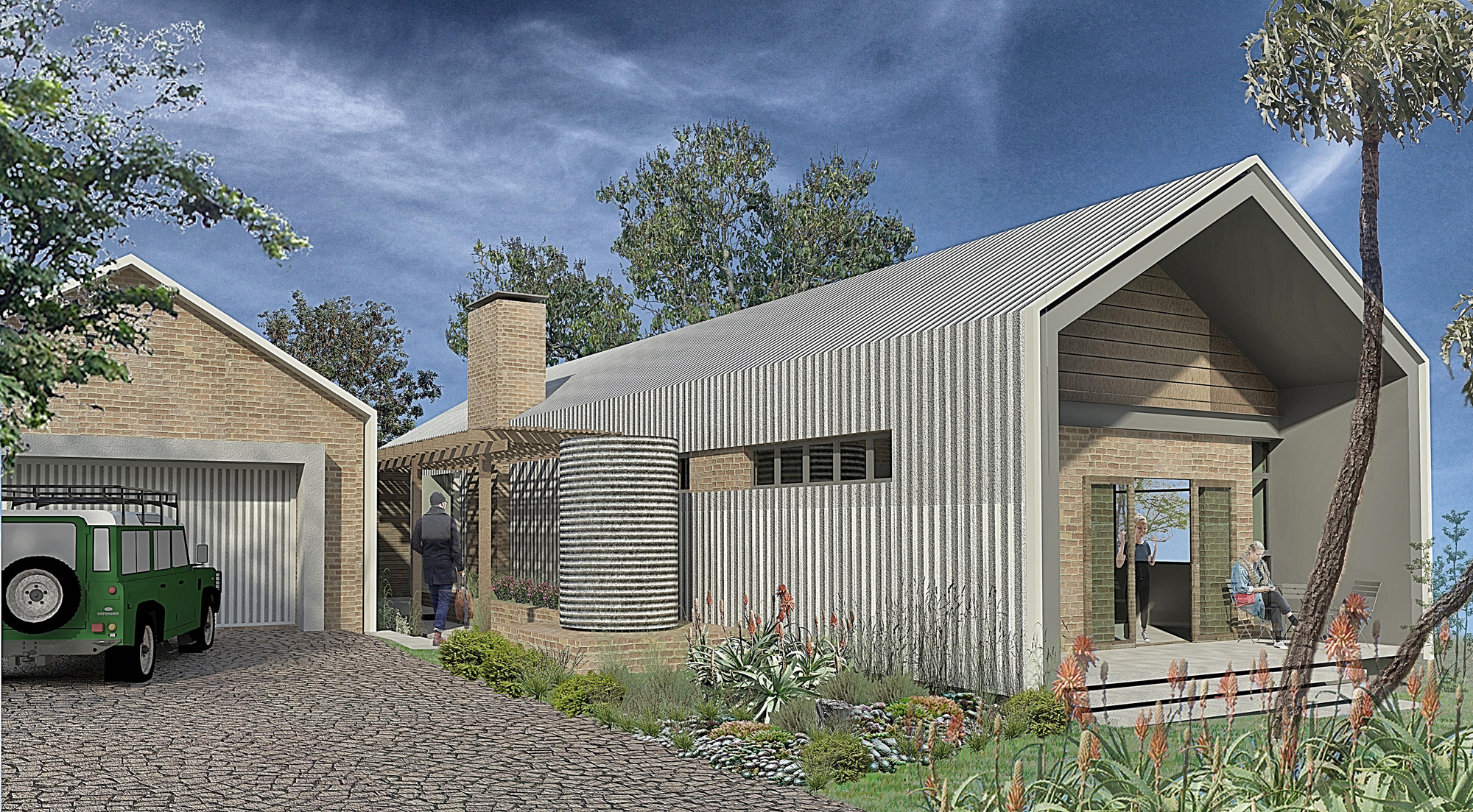 Home Design And Garden Pietermaritzburg : An ideal family home house plan built in phases sa