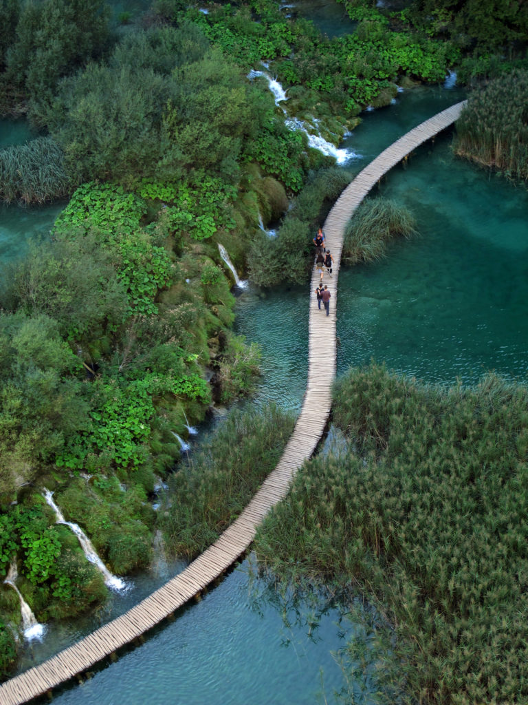 Plitvice Lakes National Park - exploring Croatia