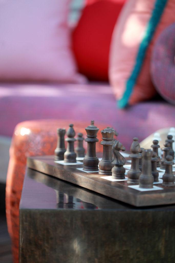 Moroccan theme deck