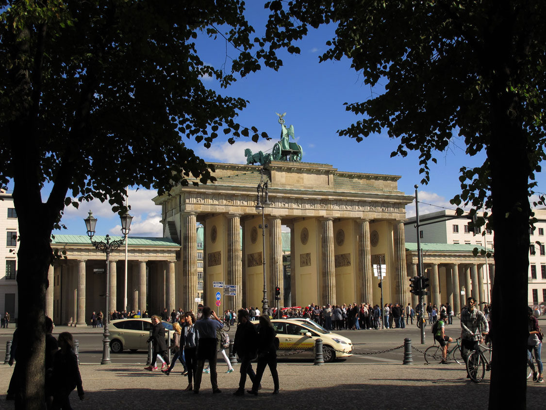 Brandenburg Gate, once a Cold War symbol of a divided city, now stands for peace and unity.