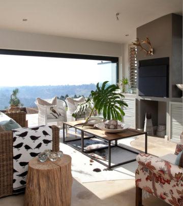 Country style KZN house veranda
