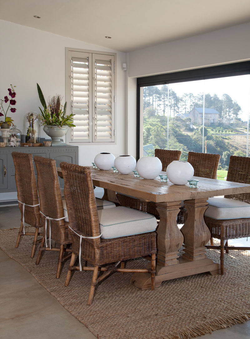 Country Style KZN House Dining Room