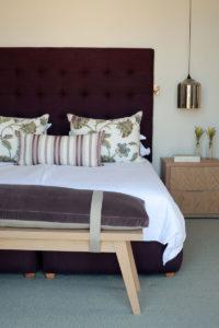 Mod classic Franschhoek house bedroom