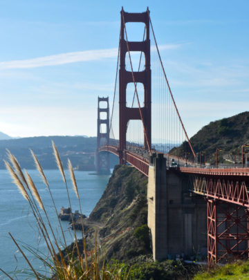 Opened in 1937, the Golden Gate Bridge is the icon of San Francisco.
