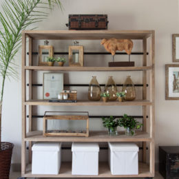 Top tips on styling shelves