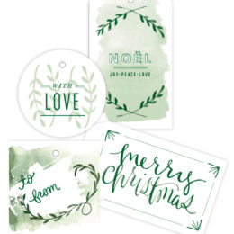 WIN A SET OF 20 CHRISTMAS TAGS FROM SUGARAPPLE.CO.ZA