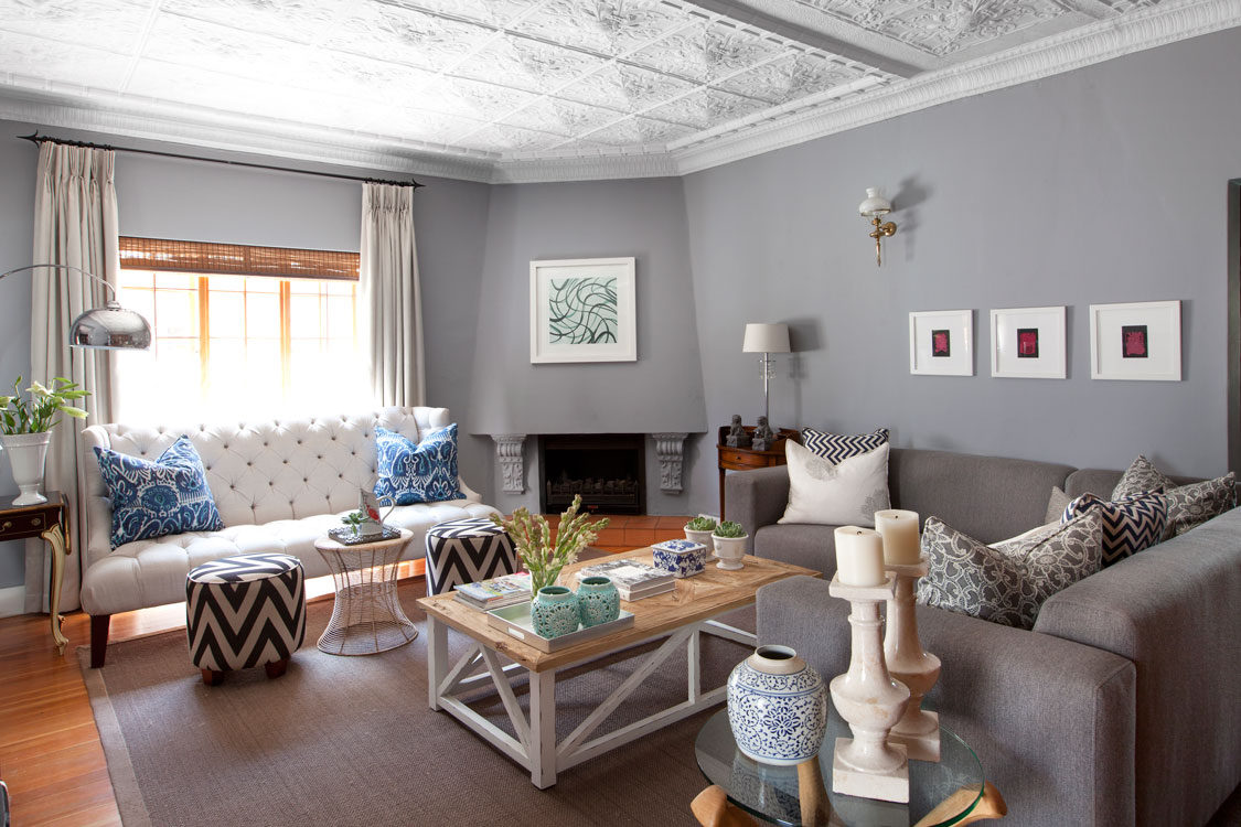 A Period Living Room Gets An Update Sa Garden And Home