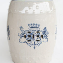 WIN A BLUE CREST CERAMIC STOOL FROM NETDÉCOR WORTH R1 820