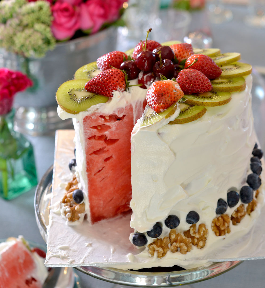 No Bake Watermelon Cake Recipe Sa Garden And Home