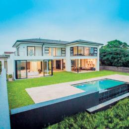 A modern, minimalist house