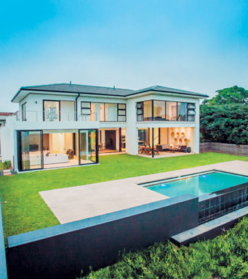 Architect 39 s plans sa garden and home for Modern house 80m2