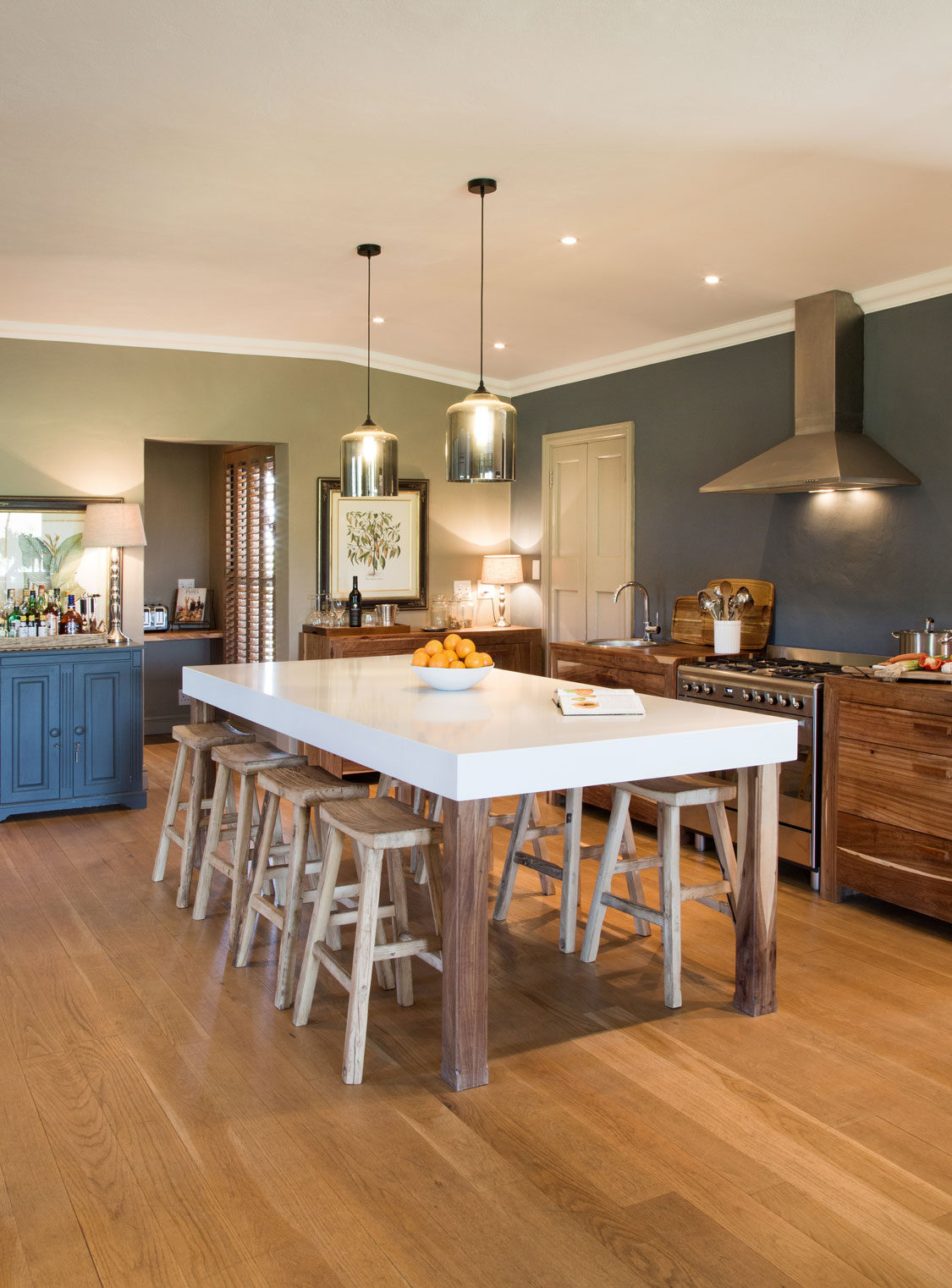 Midlands farmhouse kitchen