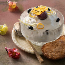 CITRUS AND GINGER SYLLABUB