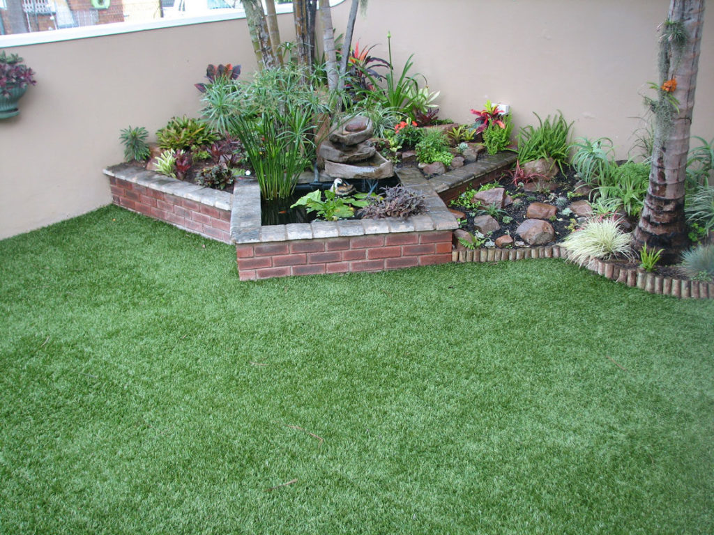 Duraturf -- low maintenance gardening tips -- Garden and Home