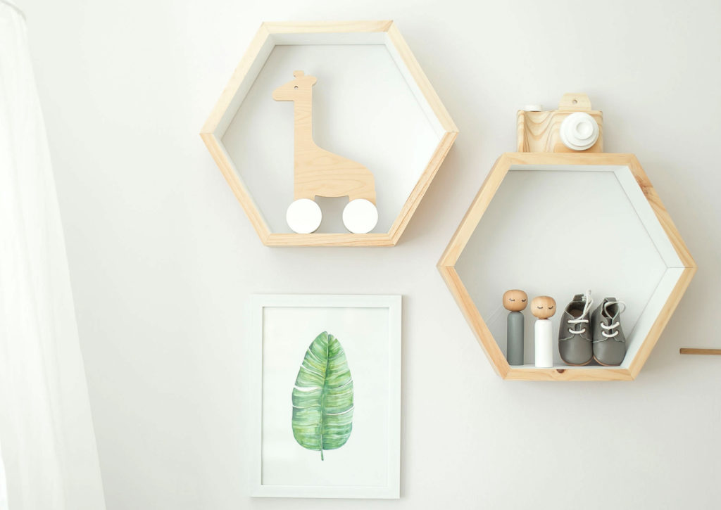 A Scandi Inspired Nursery With Touches Of Greenery Sa