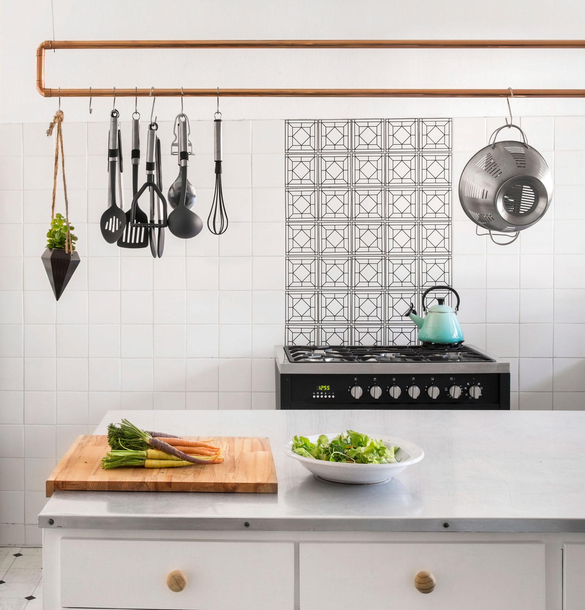 Sa Kitchen Designs: DIY: Make A Pot Rack From Copper Piping