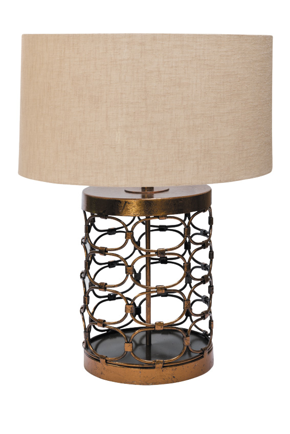 Oval table lamp, R1 695.