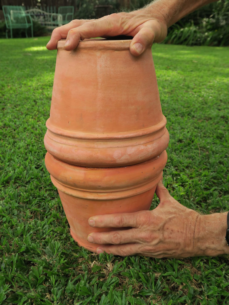 diy clay pot irrigation