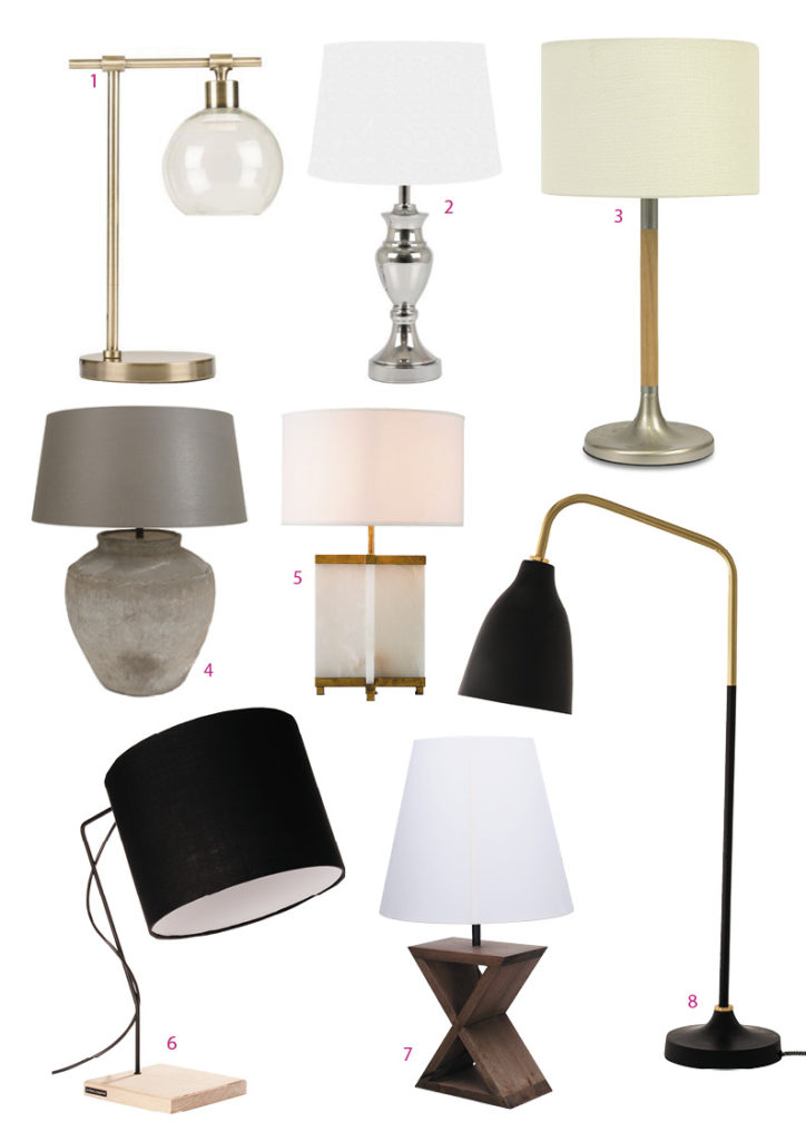 Here are our favourites 1 utility brushed brass and glass lamp r699 home