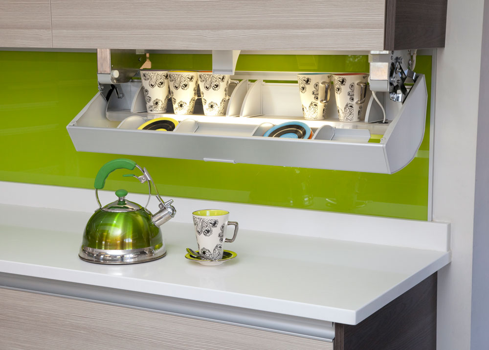 Clever tricks to maximise space in small kitchens - from above