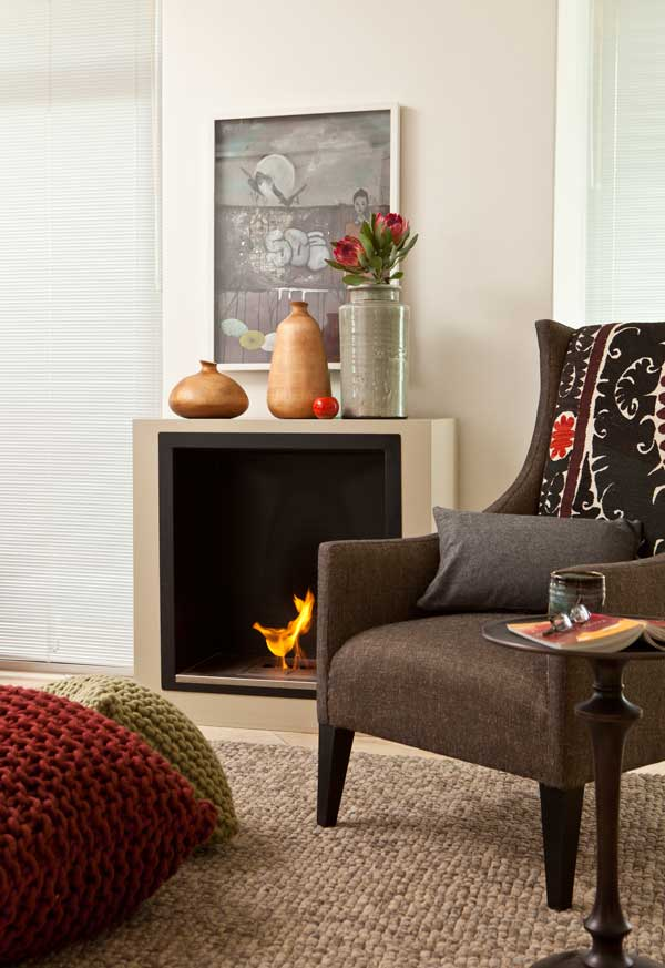Make your fireplace a focal point 1