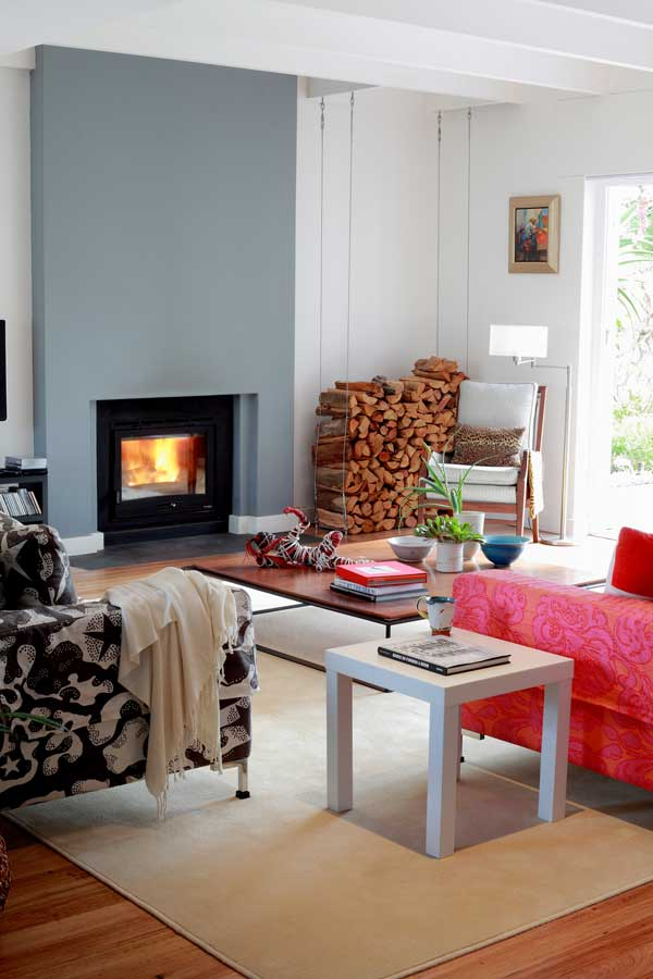 Make your fireplace a focal point