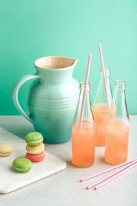 cooking with lemons: pink lemonade