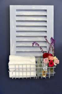 upcycle an old shutter