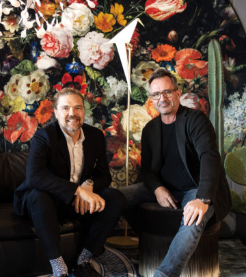 CEOs of Moooi and Weylandts