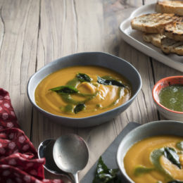 BUTTERNUT AND GINGER SOUP