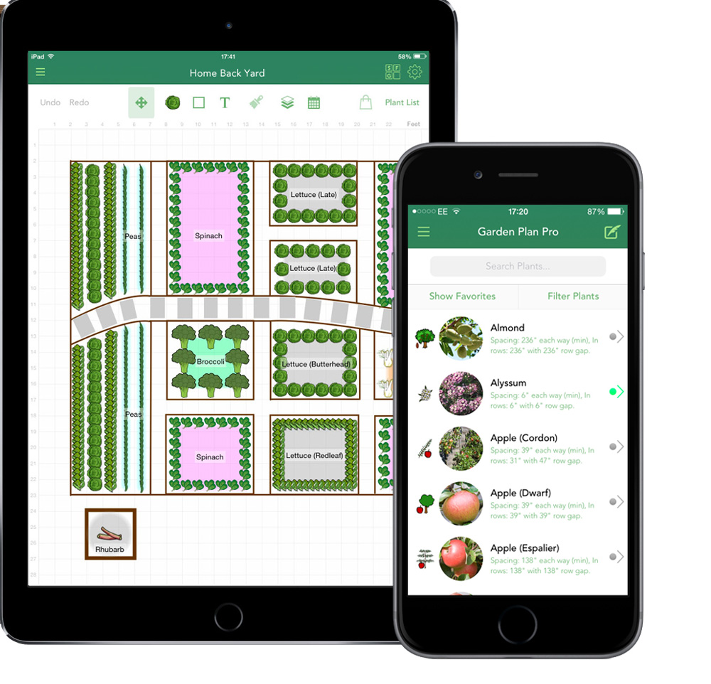8 gardening apps you need now sa garden and home for Garden planner app