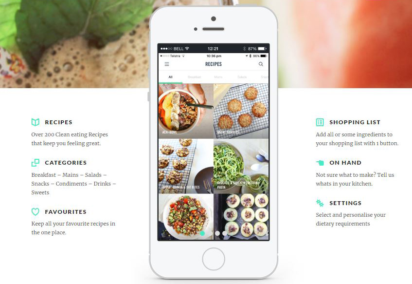 apps for every type of foodie - clean and green eating