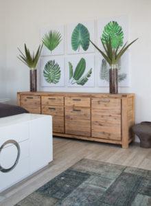 leafy look - tropical decor