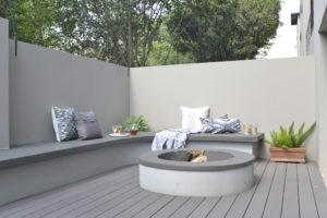 decking ideas - lawn replacemenet