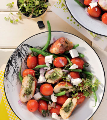 BASIL PESTO CHICKEN SALAD - YOUR FAMILY MAGAZINE