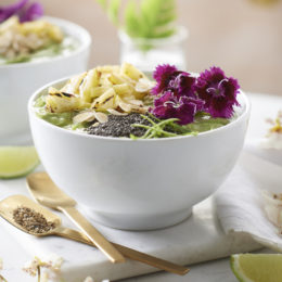 ginger and lemon smoothie bowl - twinings tea - garden and home south africa